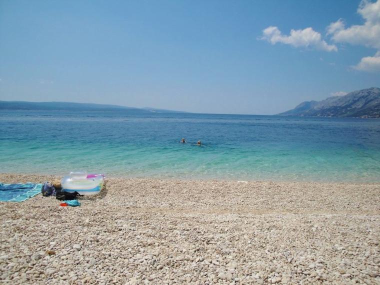 Mitteldalmatien Brela Strand